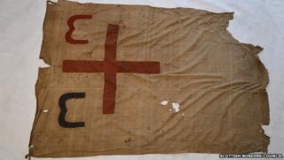 Maori war flag