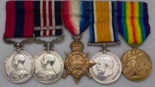 Sanders medals