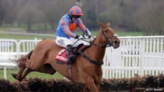 Tony McCoy on a horse