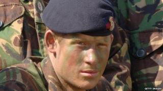 Prince Harry in 2006