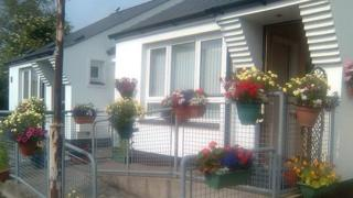 The gang broke into the pensioner's house in Thackery Place, Limavady
