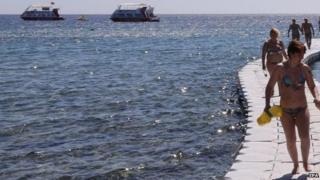 Egyptian Red Sea resort of Sharm el-Sheikh, file pic