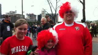 Chloe, Kirsty and Alan Lycett