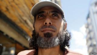 "Abu Wa""el Dhiab, one of the Syrian refugees - Buenos Aires, Feb 2015"