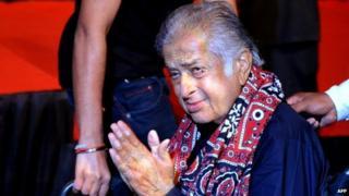 Shashi Kapoor in 2012