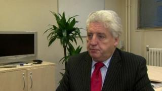 Alasdair McDonnell has said the SDLP was not tied to any party
