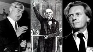 Nye Bevan, William Gladstone, Michael Heseltine