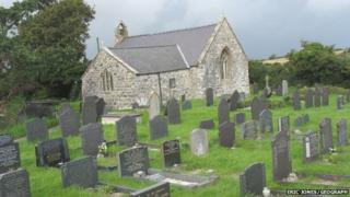 Llaniestyn Church and Cemetery