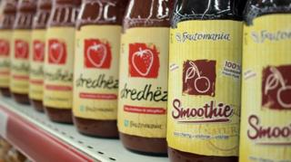 Frutomania juices and smoothies