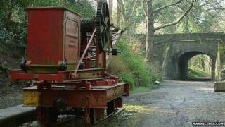 The Old Steam Railway line, Isle of Man