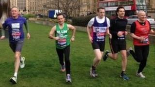 MPs running