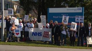 Privatisation protest