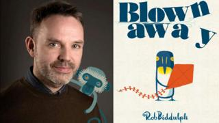 Rob Biddulph and Blown Away book jacket