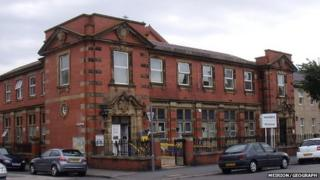 The current police station on Oxford Road, Llandudno