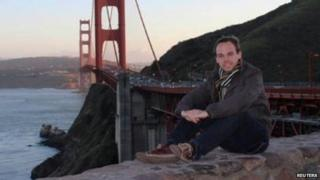 A photo of Andreas Lubitz, from his Facebook profile
