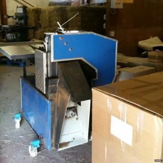 Tobacco processing equipment