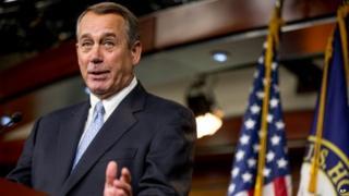 John Boehner, the Speaker of the House of Representatives