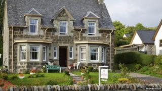 bed and breakfast in Scotland