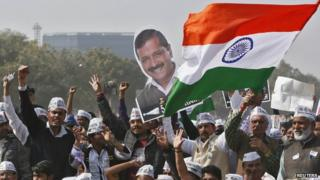 Mr Kejriwal is the most popular face of the Aam Aadmi Party