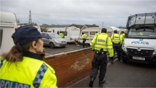 Thames Valley Police execute warrants at three locations across Oxford