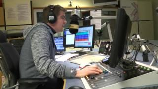 BBC Radio Derby presenter Colin Bloomfield