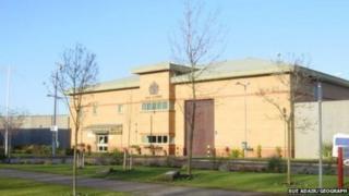 Altcourse Prison in Liverpool