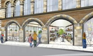Artist's impression of new Carriageworks