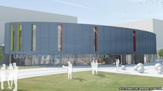 Planned redevelopment of Southampton General Hospital
