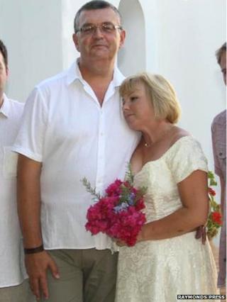 Ian and Tracy Walters