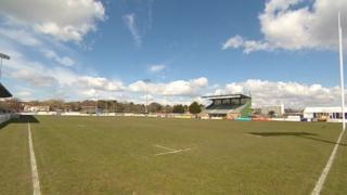 Plymouth Albion ground