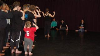 Dancers and rehearsal directors