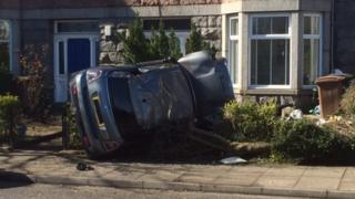aberdeen car crash