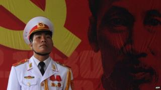 File photo: Portrait of Ho Chi Minh