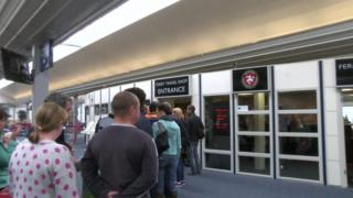 Isle of Man Steam Packet ferry queues
