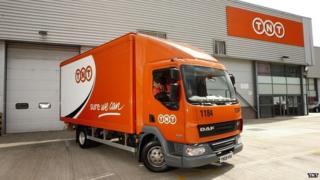 A TNT van