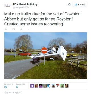 Crash near Royston