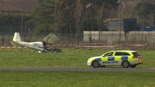 Newtownards Airfield crash
