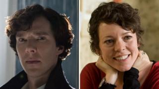 Benedict Cumberbatch in Sherlock and Olivia Colman in Rev