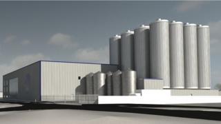 Impression of planned BrewDog expansion