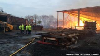 Fire at Tilbrook