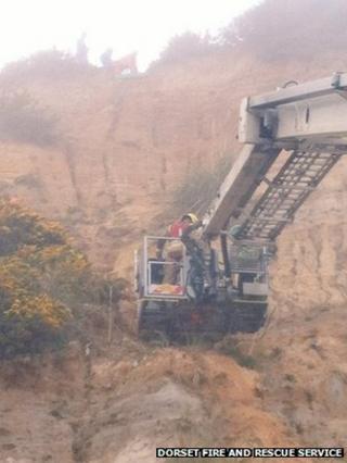 Bournemouth Cliff Rescue