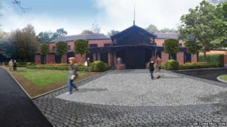 Artist's impression of Woodhall Spa exterior