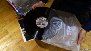 A vinyl album
