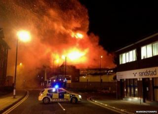 Mr Smith's fire