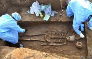 Human skeletons found in Haryana