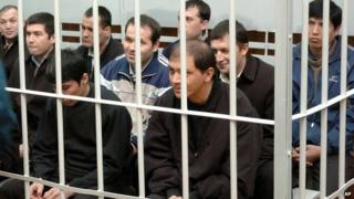 Allegations of torture and forced confessions surrounded the trial of 15 Uzbek men following the Andijan massacre in 2005 when troops fired into a crowd, killing hundreds