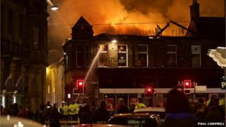 Inverness fire