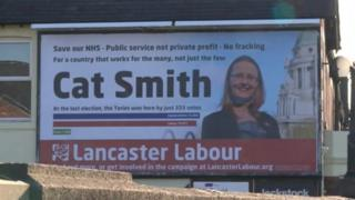 A Labour poster for Cat Smith