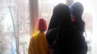 Malika and children