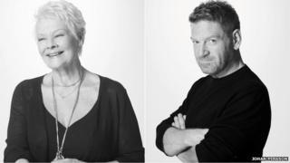 Dame Judi Dench/Sir Kenneth Branagh